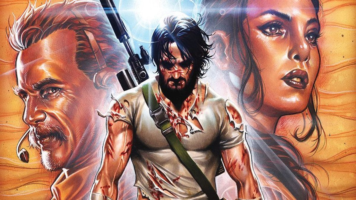 HQ de Keanu Reeves 'BRZRKR' arrecada 350.000 dólares no Kickstarter
