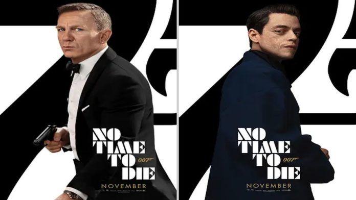 '007: Sem tempo para morrer' ganha novos posters
