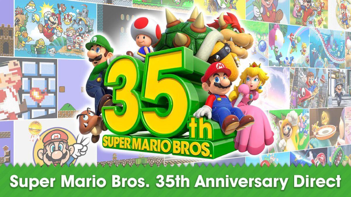 Super Mario Bros 35º aniversário Direct confira todas as informações