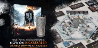 Frostpunk: The Board Game bateu recorde no Kickstarter