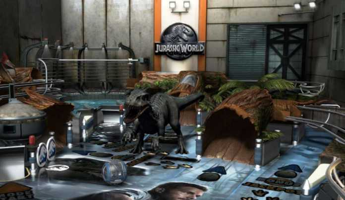 Pinball FX3: DLC Jurassic Park World está em oferta