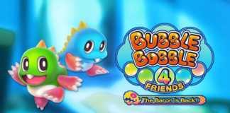 Bubble Bobble 4 Friends: The Baron is Back chega ao Nintendo Switch em novembro