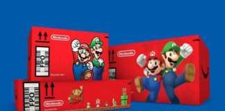 Amazon surpreende os compradores com embalagens Super Mario Bros.
