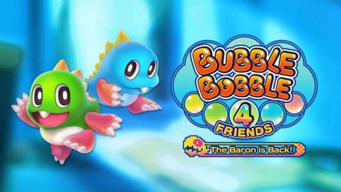 Bubble Bobble 4 Friends: The Baron is Back - Um universo repleto de bolhas - Review - PS4