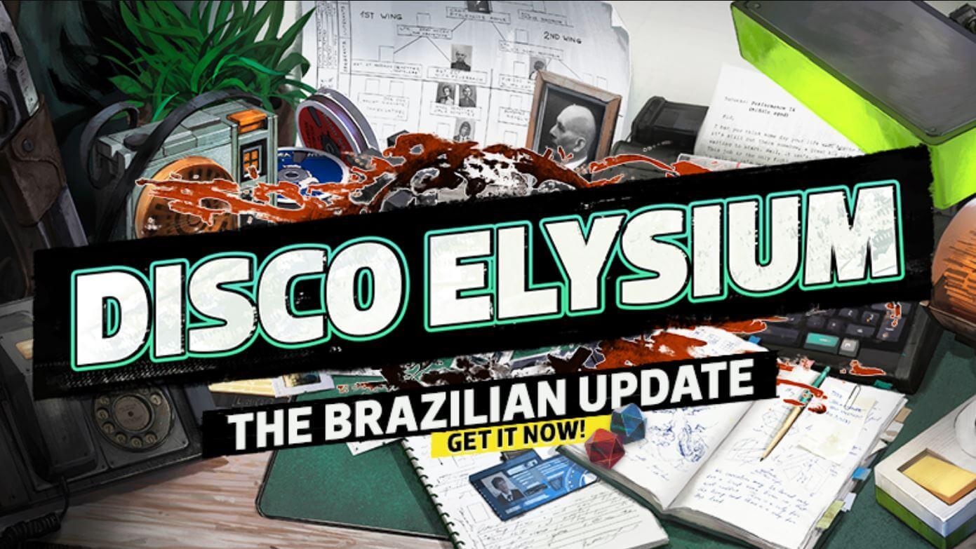 Disco Elysium agora está disponível em português Brasileiro