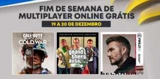 Playstation: GTA 5, Black Ops Cold War e Fifa 21 no fim de semana gratuito