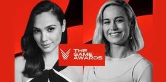 Gal Gadot e Brie Larson serão apresentadoras do The Game Awards 2020