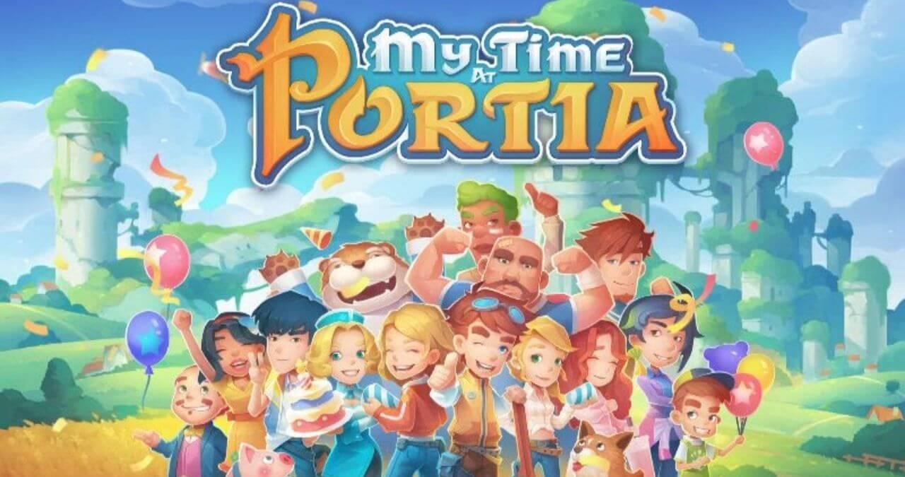 My Time at Portia RPG de construção está gratuito