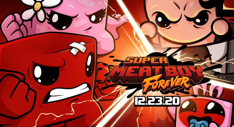 Super Meat Boy Forever chega na próxima semana no Switch