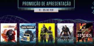 Promoção Primavera Epic Games Store com 75% de desconto