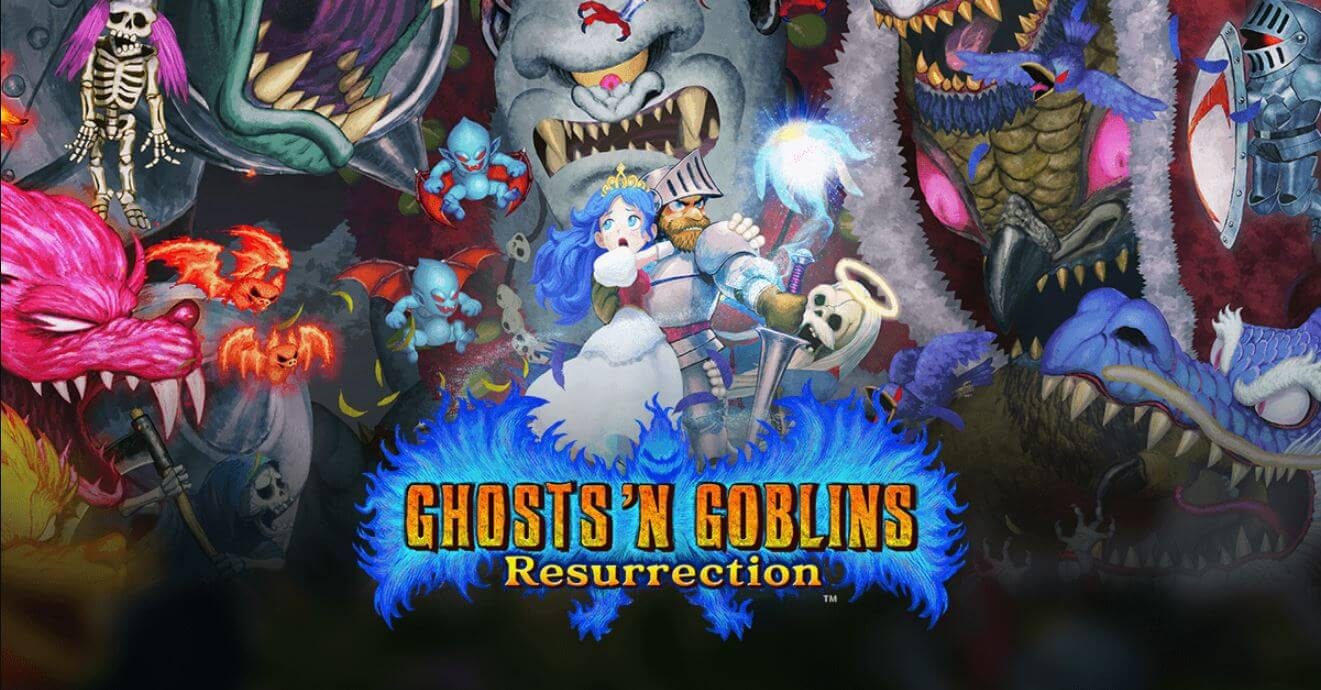 Ghosts 'n Goblins Resurrection chegou no Nintendo Switch