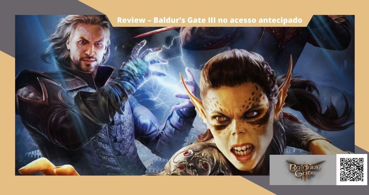 Baldur's Gate III prévia do jogo no acesso antecipado