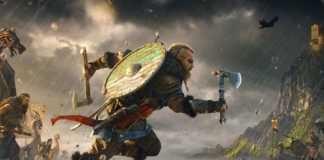 Assassin's Creed Valhalla está com bugs
