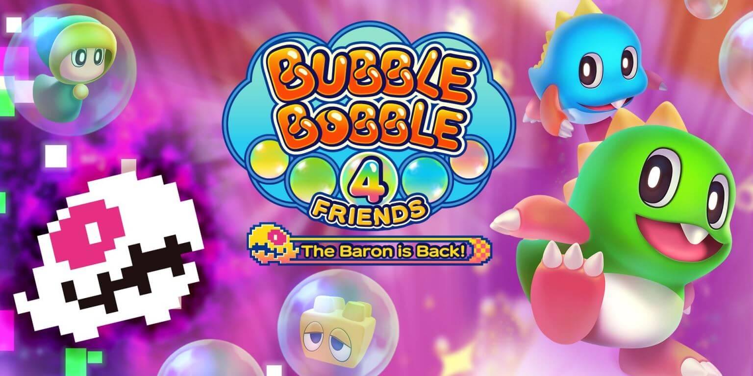 Bubble Bobble 4 Friends: The Baron is Back franquia é anunciada para PC
