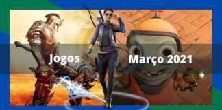 Os principais lançamentos de games em março de 2021