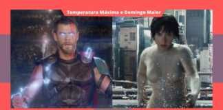 Thor: Ragnarok e Ghost in The Shell na globo neste domingo