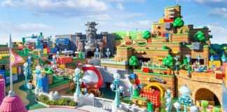 Super Nintendo World de Osaka será inaugurado em março