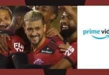 Amazon Prime Video será patrocinador camisa Flamengo na Supercopa do Brasil