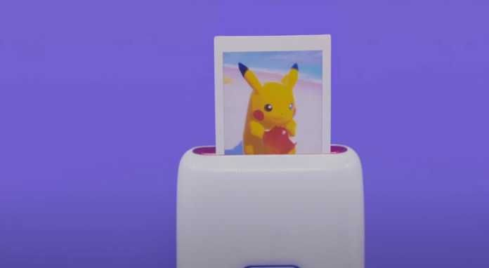 Pokémon Snap | Imprima as fotos com uma mini impressora