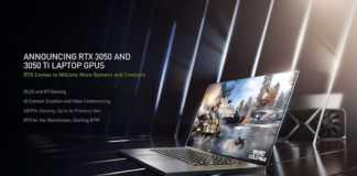 NVIDIA: GeForce RTX 3050 e Geforce RTX Ti chegam aos notebooks