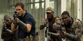 A Guerra do Amanhã   Nova imagem divulgada de Chris Pratt em ação
