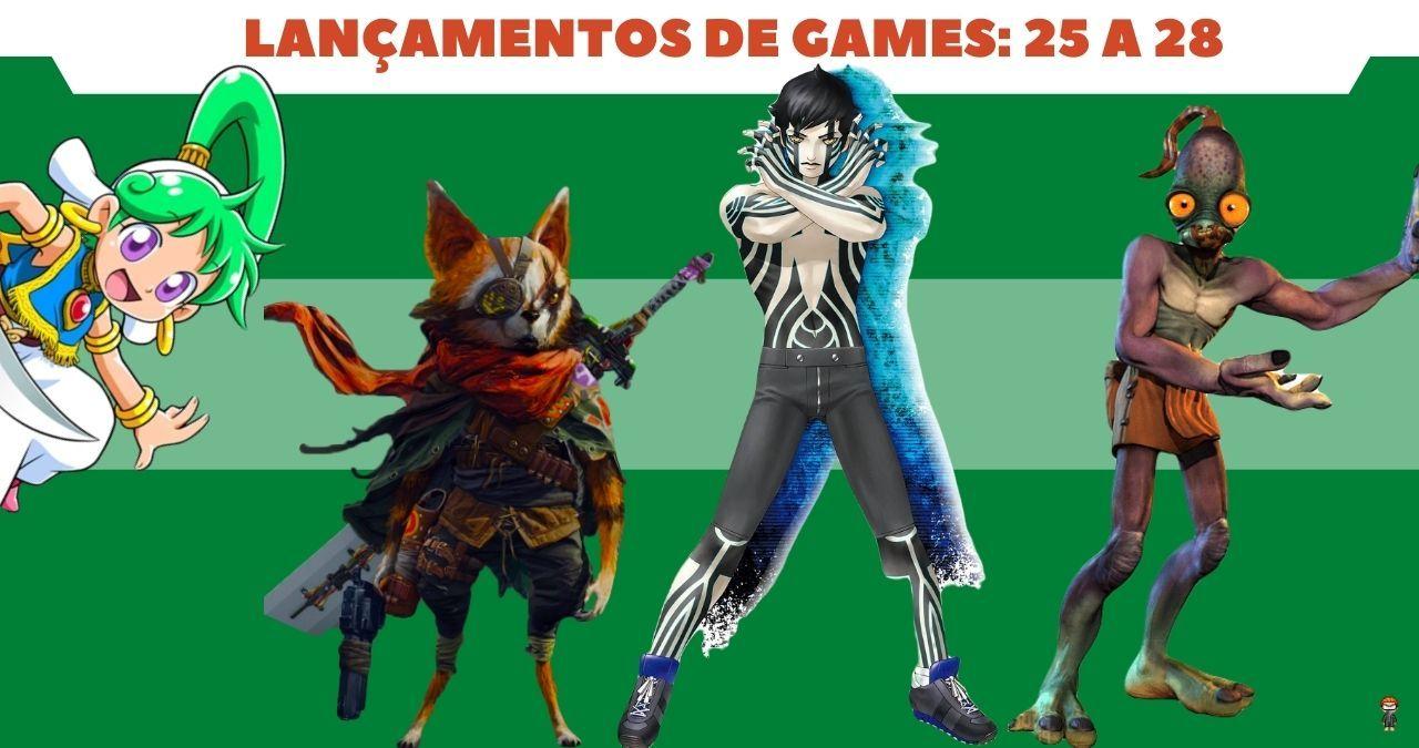 Lançamentos de Games: de 25 a 28 de maio: Destaque para Biomutant