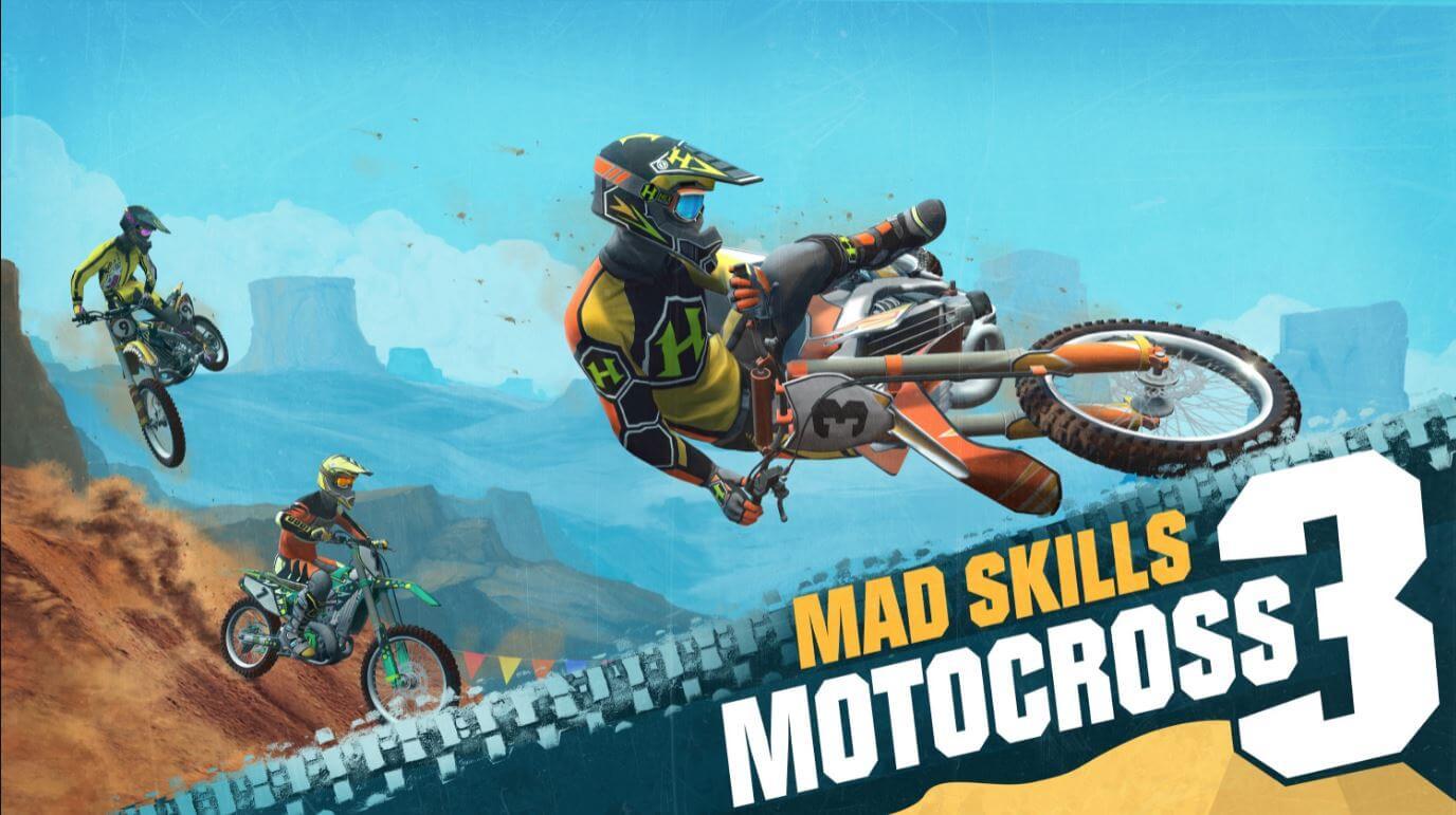 Mad Skills Motocross 3 chega dia 25 de maio para mobiles