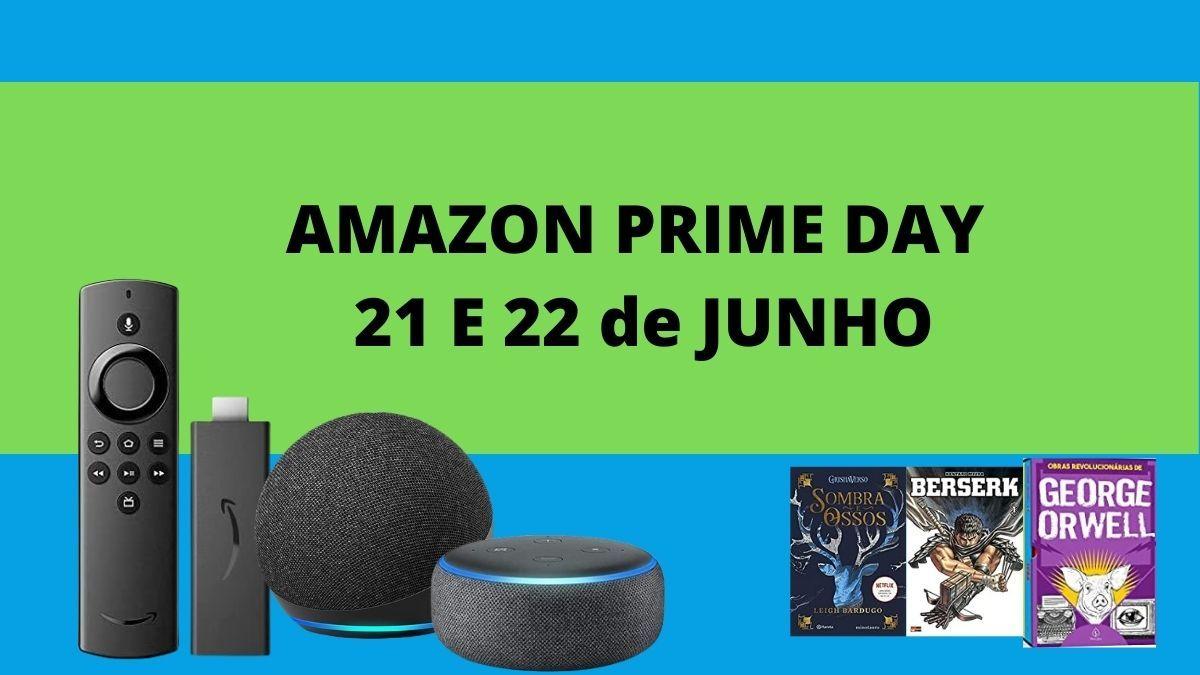 Amazon Prime Day, confira as melhores ofertas de games e tecnologia