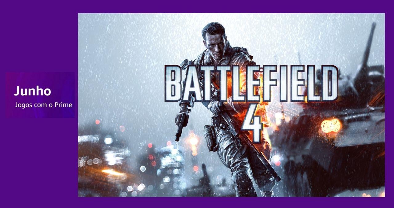 Battlefield 4 está de graça para assinantes Prime Gaming