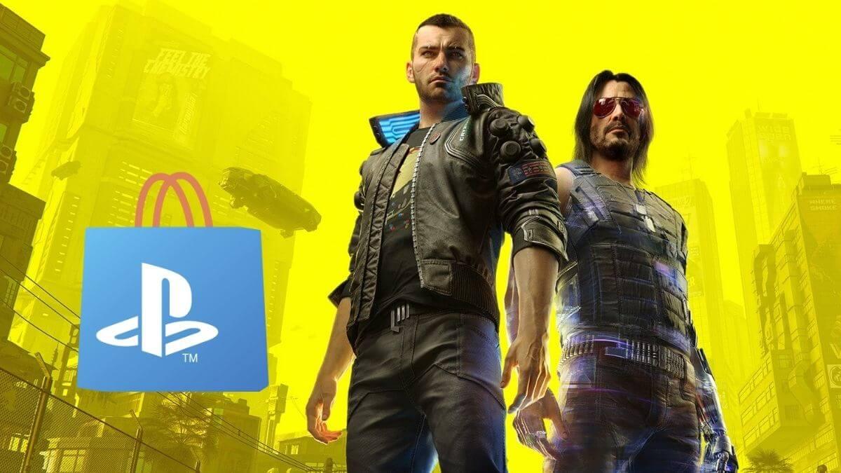 Cyberpunk 2077: Retorna para o catálogo da Playstation Store