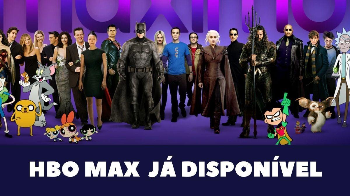 Serviço de streaming do Hbo Max já está disponível no Brasil