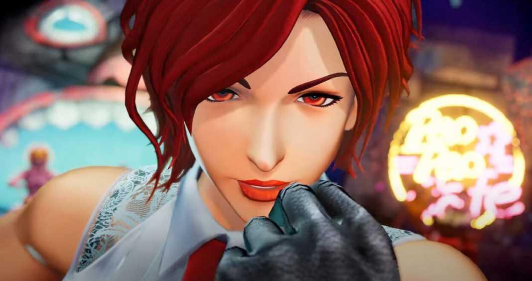 SNK lança novo trailer de The King of Fighters XV focado em Vanessa