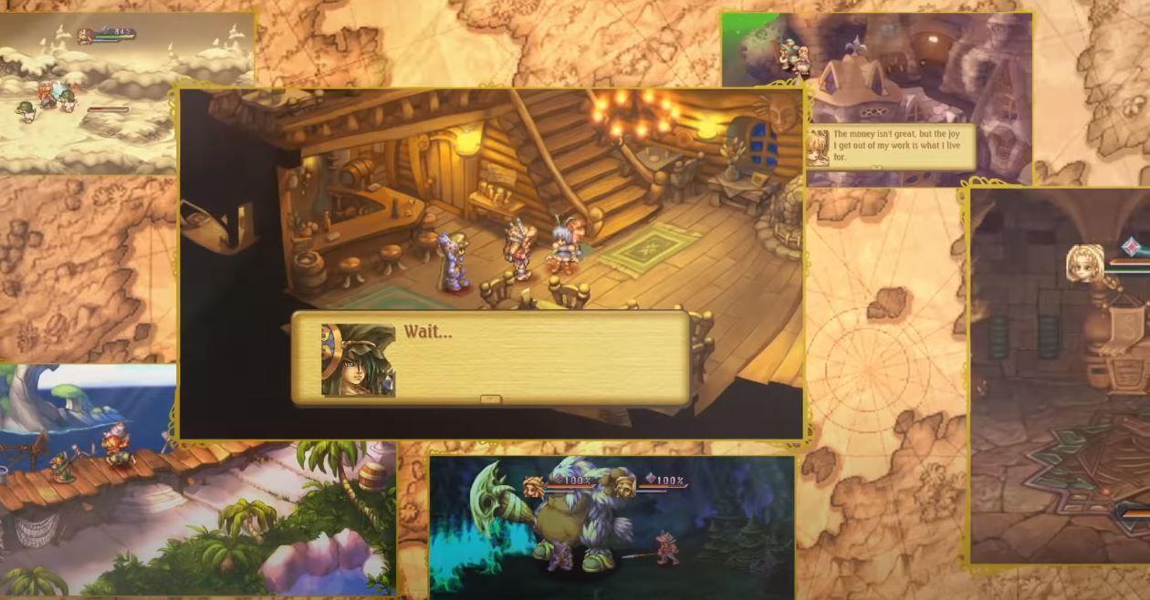 O clássico de Legend of Mana retorna remasterizado e já está disponível!
