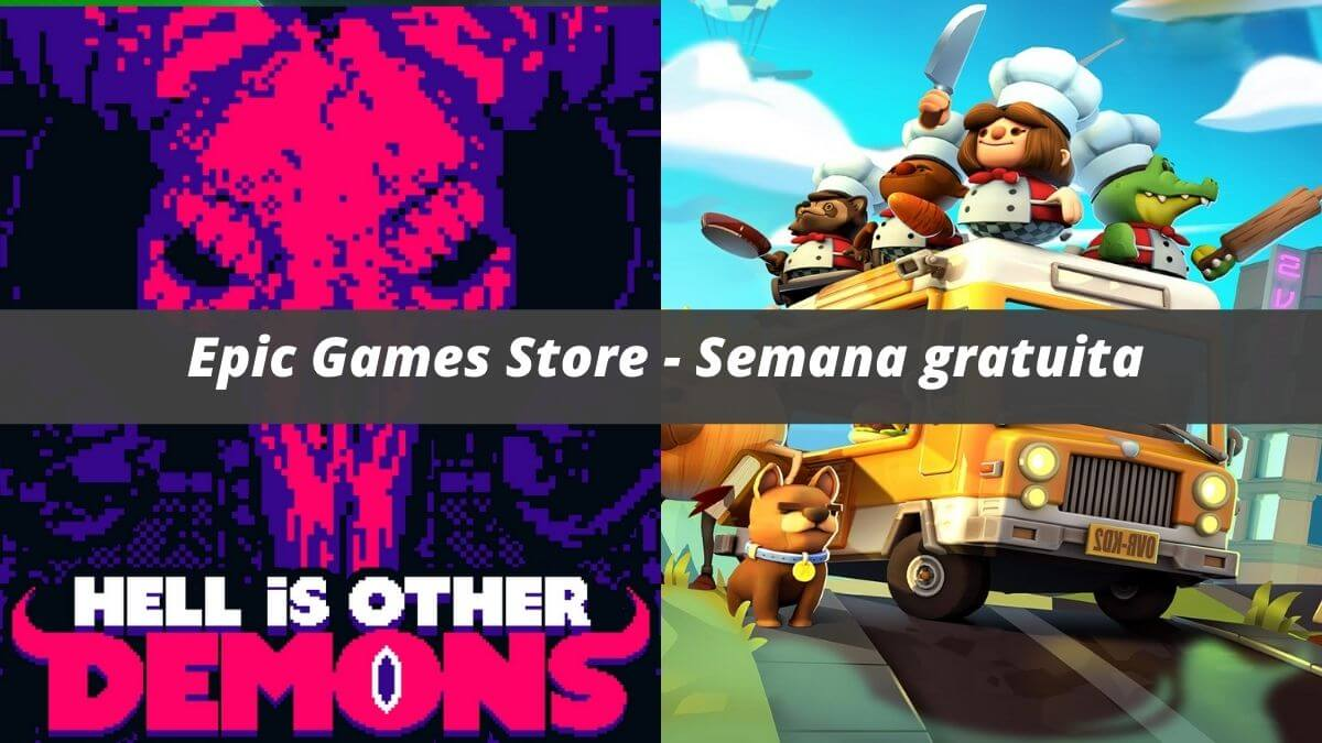 Overcooked 2 e Hell is Other Demons estão gratuitos na Epic Games Store