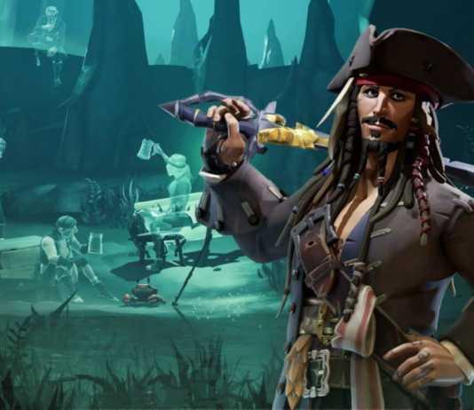 Sea of Thieves: Conteúdo de Piratas do caribe chega ao jogo