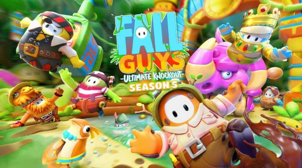 Faça um Safári na selva de Fall Guys na temporada 5