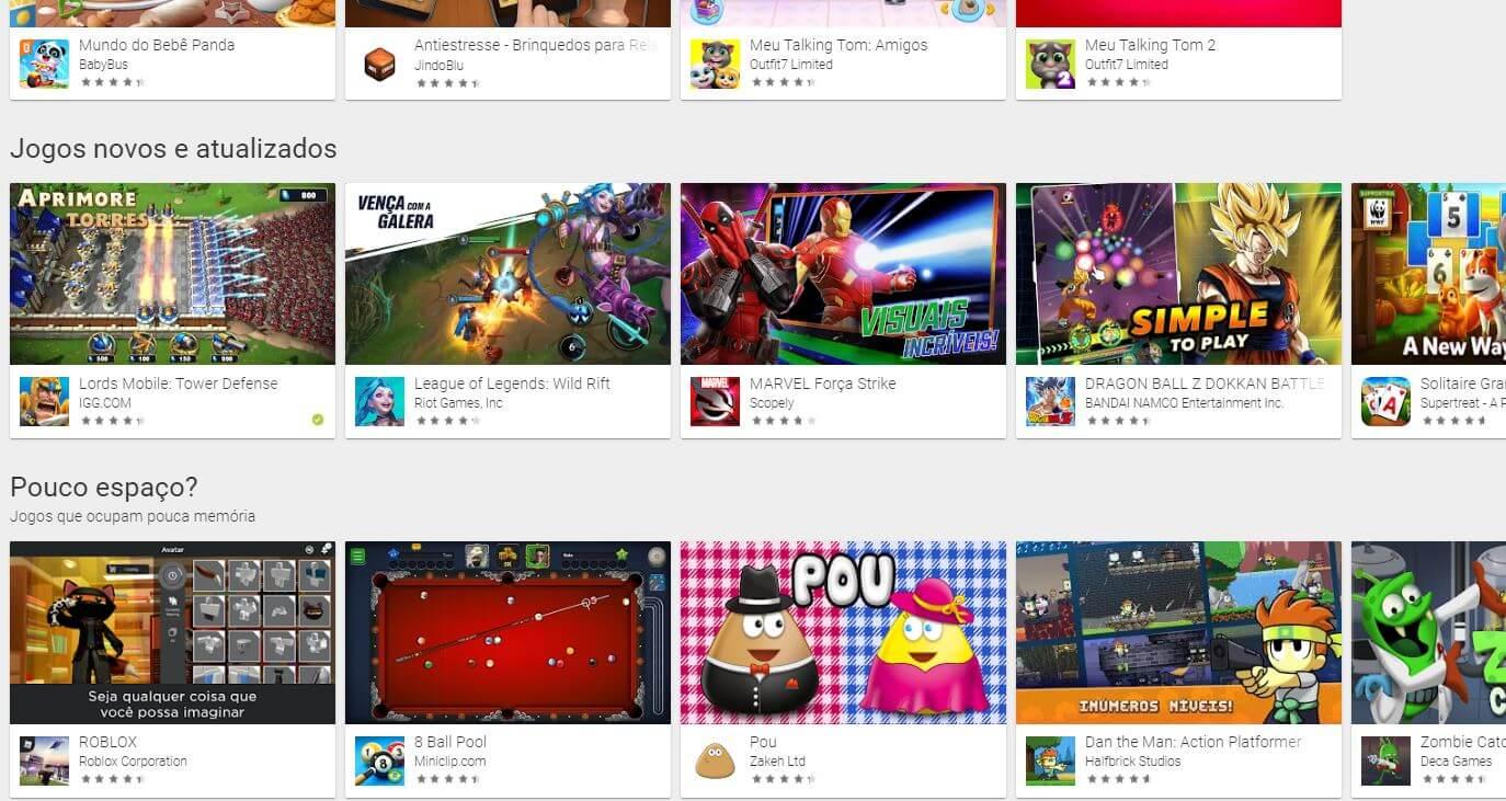 Google Play: Jogue enquanto baixa seus jogos no Android 12
