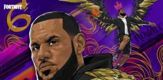 LeBron James terá skins exclusivas no Fortnite
