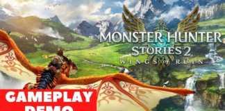Nosso gameplay do demo de Monster Hunter Stories 2: Wings of Ruin