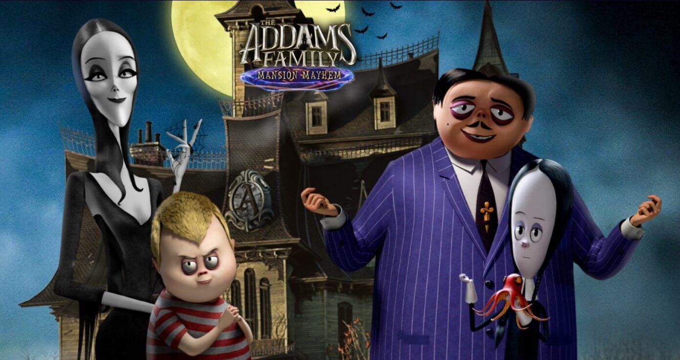 Novo jogo da Família Addams já está disponível para consoles