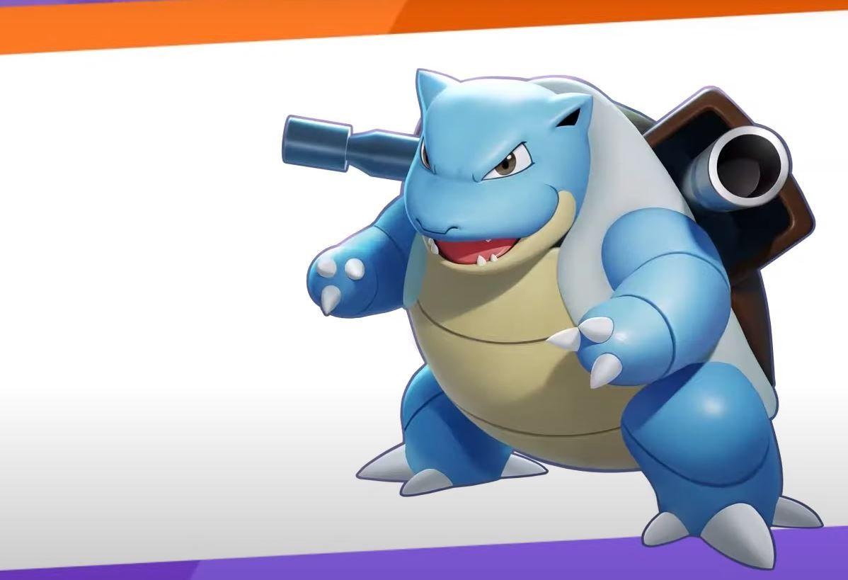 Blastoise disponível em Pokémon Unite