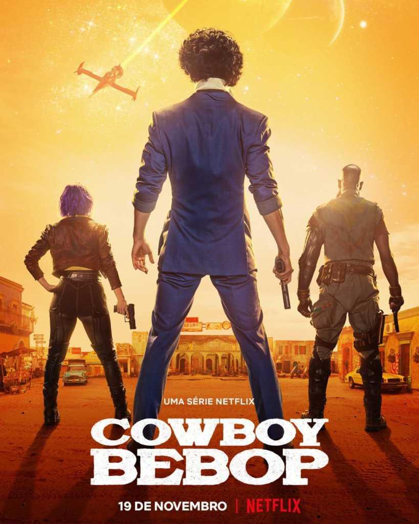 Cawboy Bebop pôster série na Netflix
