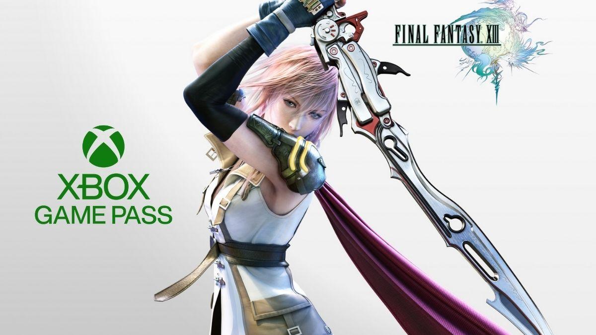 Final Fantasy XIII disponível no Xbox Game Pass
