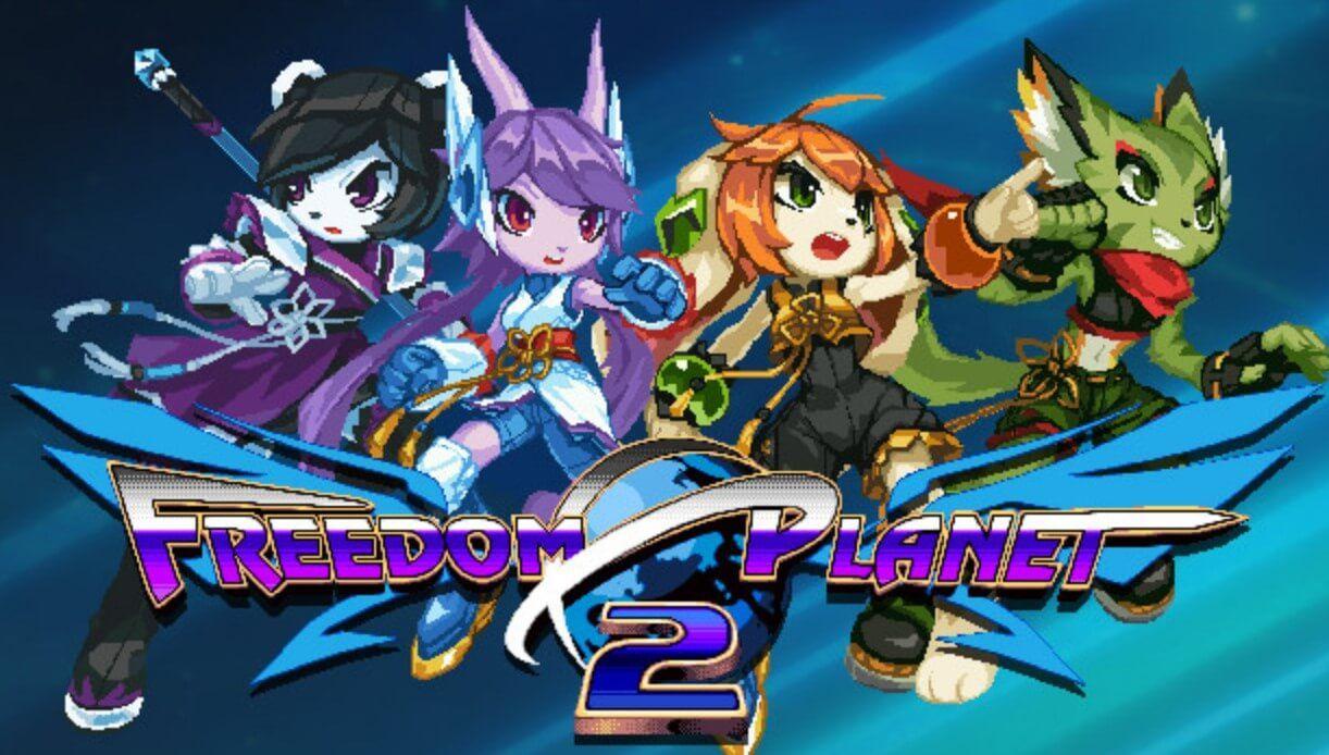 Freedom Planet 2, recebe data lançamento para 2022 no PC