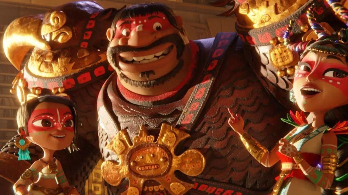 Maya e os 3 Guerreiros na Netflix