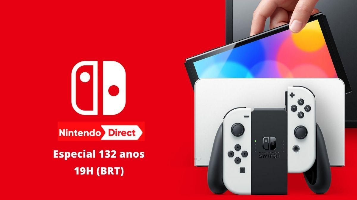 Nintendo Direct especial 132 anos da Big N