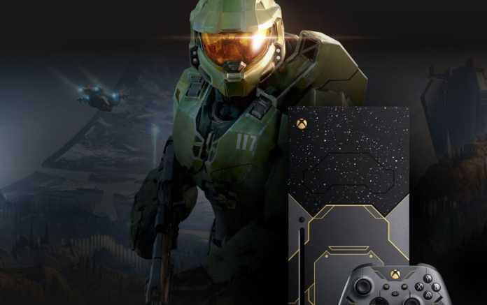 Pré-venda do Xbox Series XEdição de Halo Infinite, começa amanhã