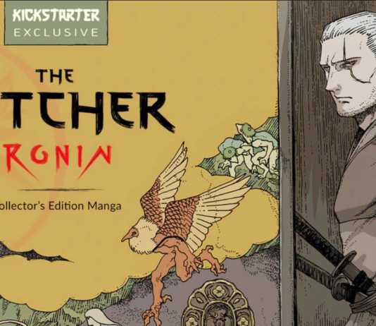 The Witcher:Ronin, começou o financiamento do mangá no Kickstarter