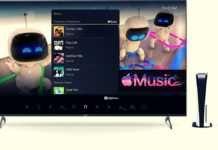 Apple Music já está disponível no console do Playstation 5