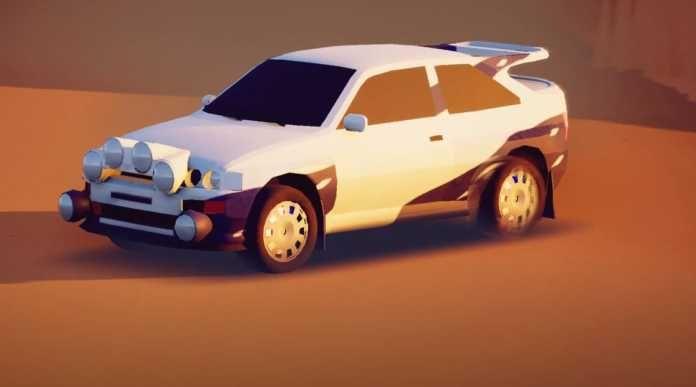 Art of Rally jogo em low poly de corrida chega no PS5